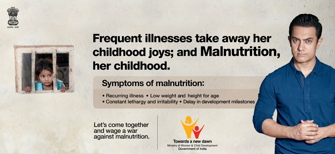 Frequent illnesses take away her childhood joys; and Malnutrition, her childhood.